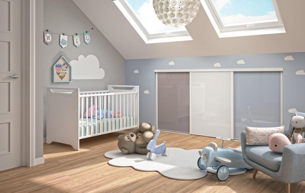Portes de placard pour chambre d\'enfants | Kazed