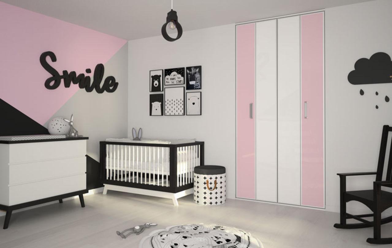 Chambre Enfant Bleu Et Rose portes de placard pour chambre d'enfants   kazed