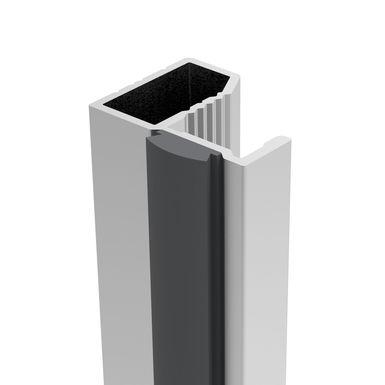 Chrome poli espacement des trous de 16,02 cm Basics Lot de 10 poign/ées de placard Barres style europ/éen Longueur/: 22,07 cm diam/ètre 12,7/mm